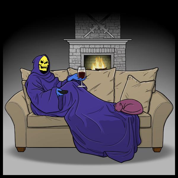 NeatoShop: Cozy Night on Snake Mountain