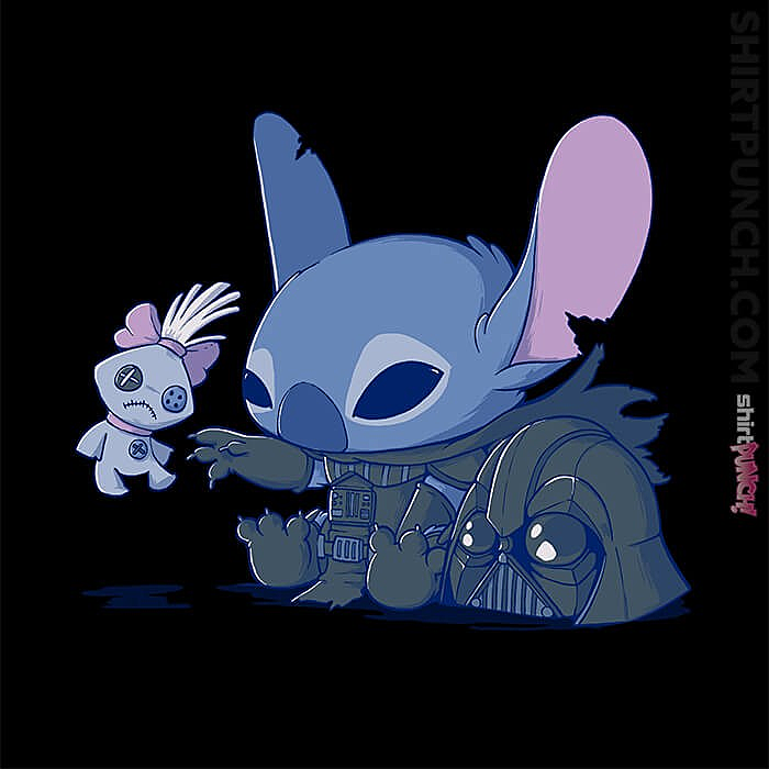 ShirtPunch: Darth Stitch