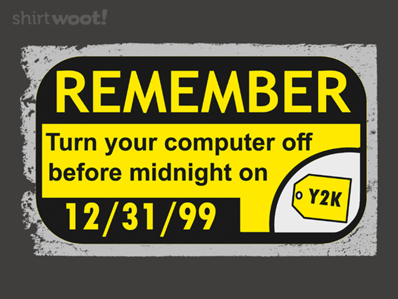Woot!: Y2K...the end?
