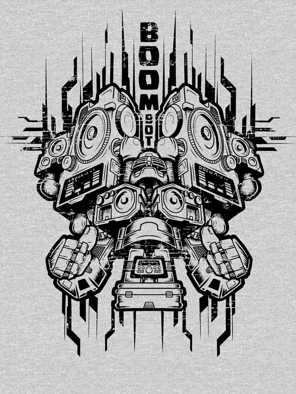 RedBubble: Boom Bot