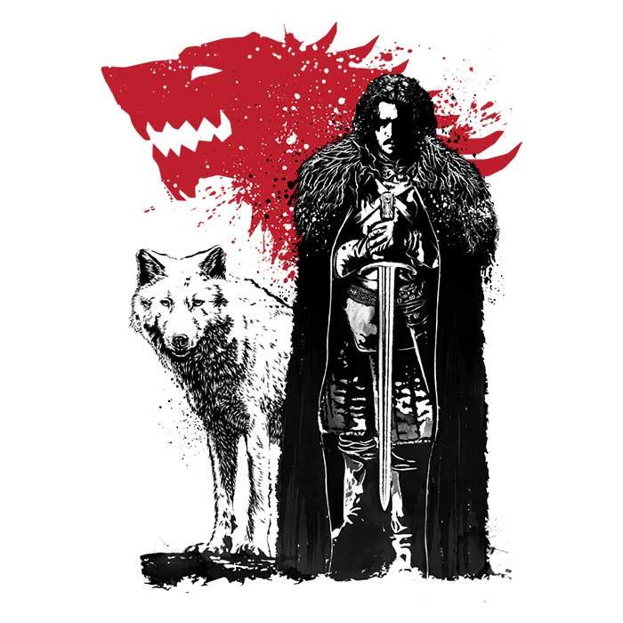 Once Upon a Tee: The King and the Wolf