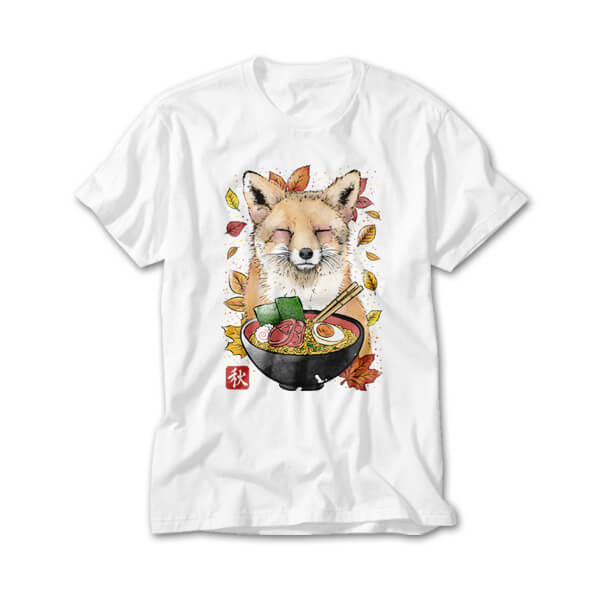 OtherTees: Fox, Leaves and Ramen