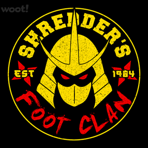 Woot!: Shredder's Foot Clan
