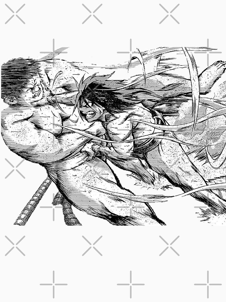 RedBubble: Hinomaru Sumo - Ushio Hinomaru Attacks