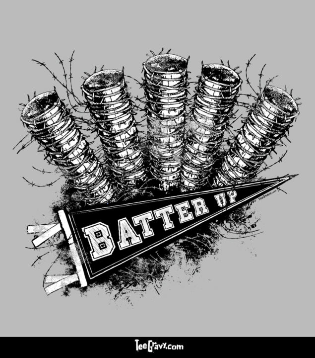Tee Gravy: Batter Up
