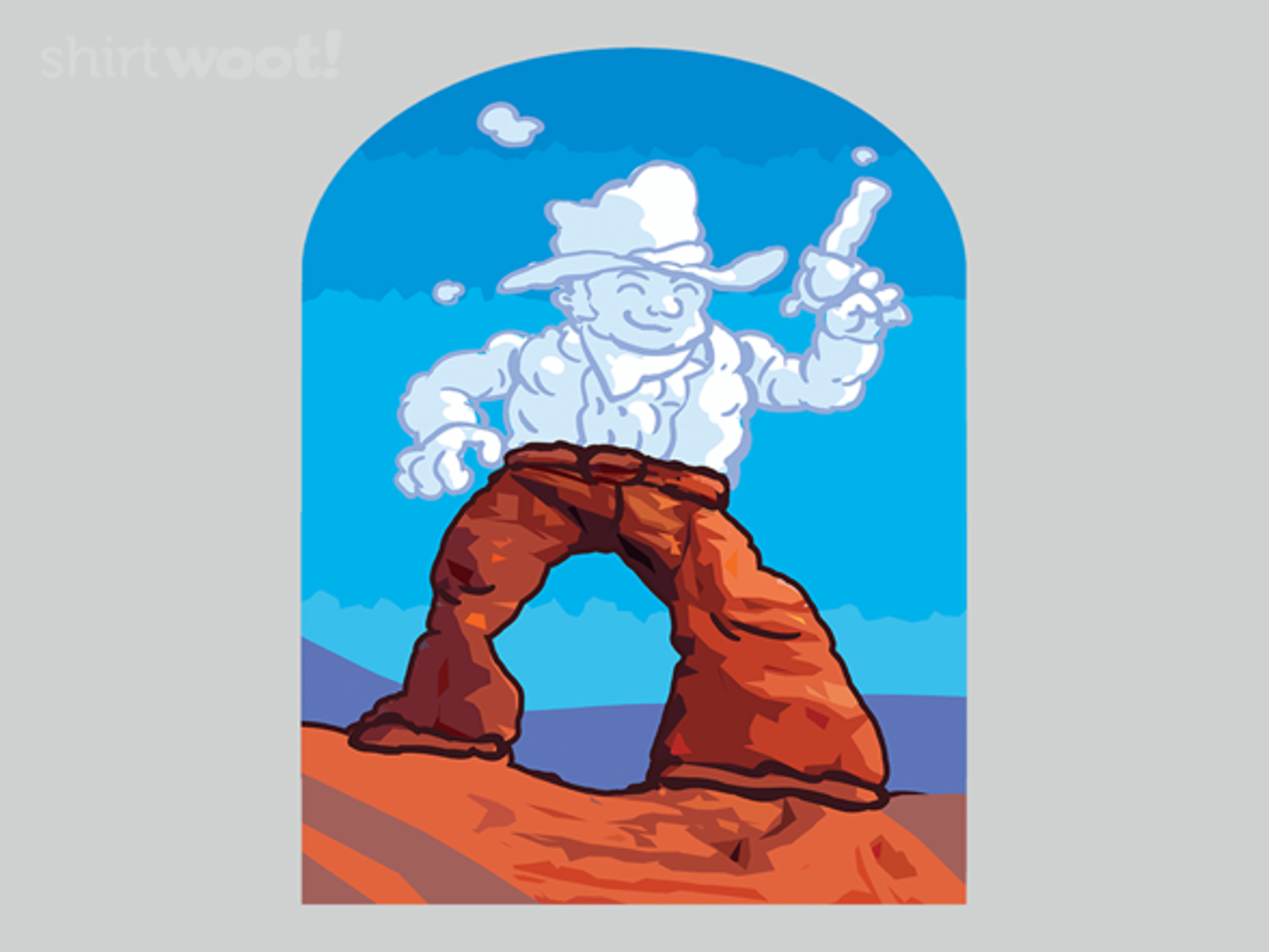 Woot!: Cloud Cowboy of Arches - $15.00 + Free shipping