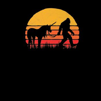 BustedTees: Funny Bigfoot Sasquatch and Unicorn Shirt