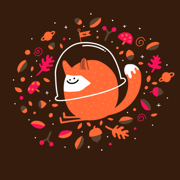 NeatoShop: Happy Space Fox
