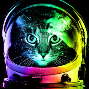 Once Upon a Tee: Astronaut Cat