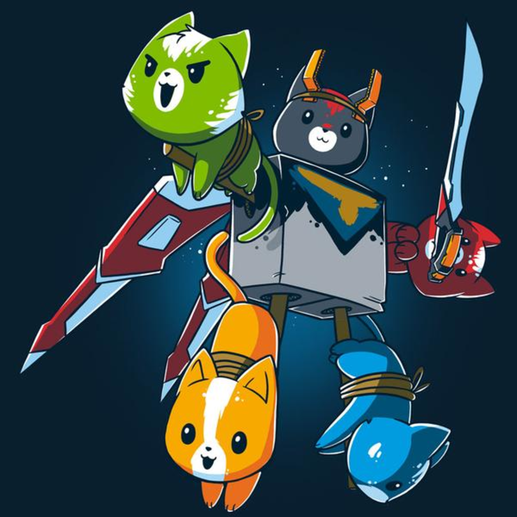 TeeTurtle: Voltron Cats