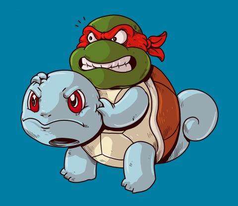 TeeFury: Turtle Power