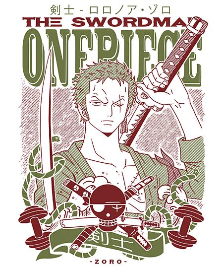Qwertee: The Swordman