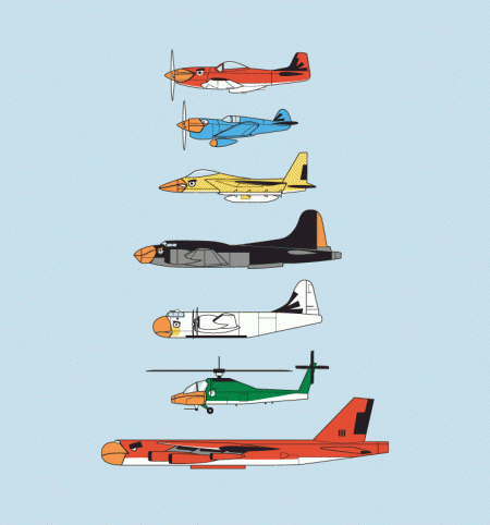 BustedTees: Angry Planes