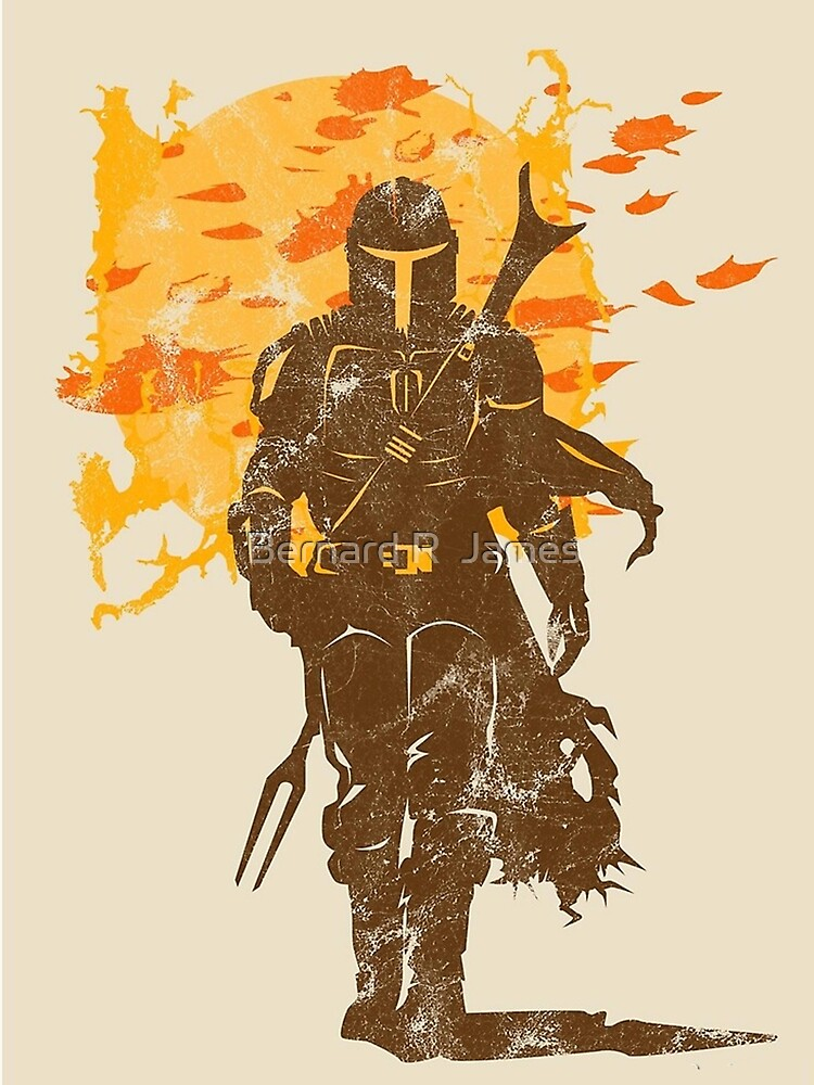 RedBubble: gold knight