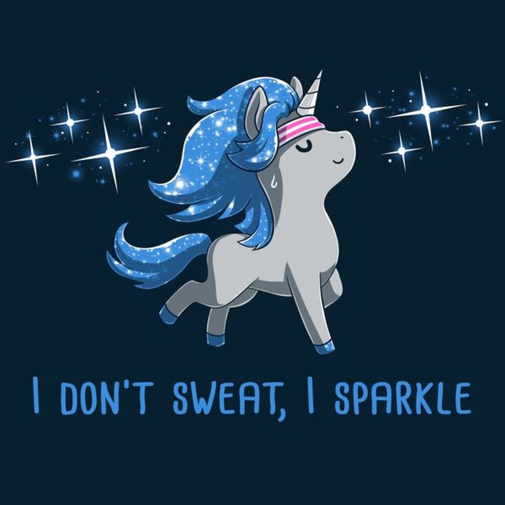 TeeTurtle: I Don't Sweat, I Sparkle