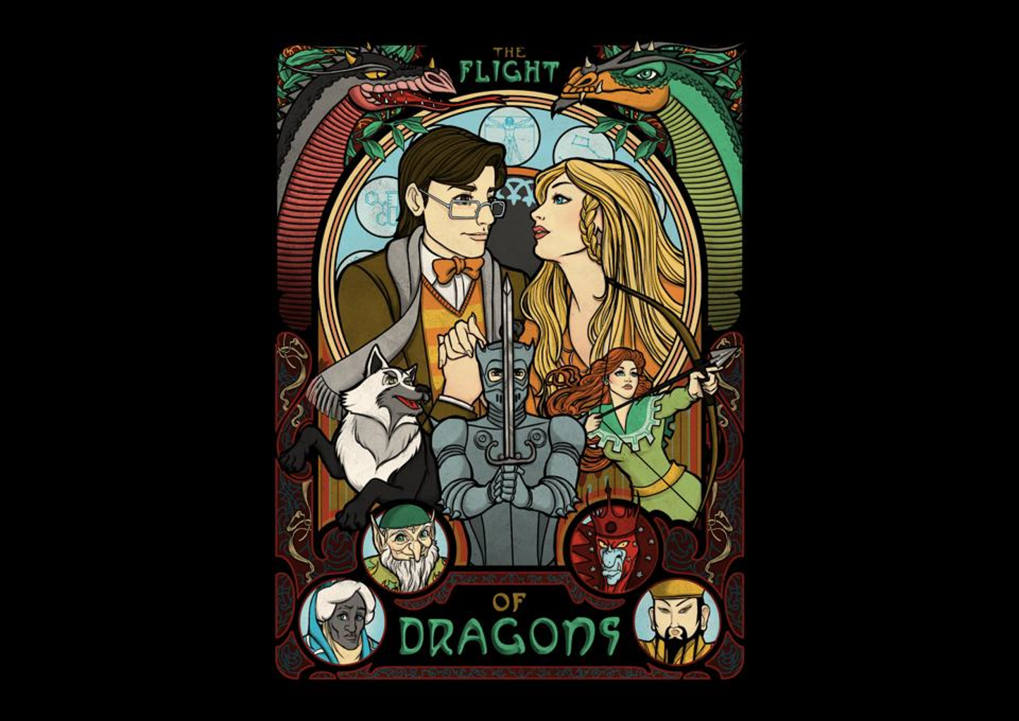 TeeFury: The Flight of Dragons