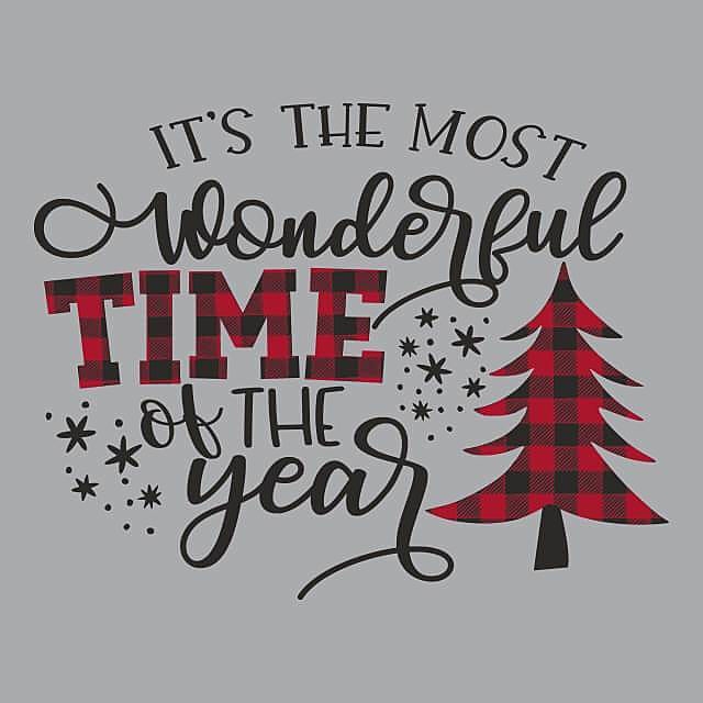 Textual Tees: Most Wonderful Time of The Year