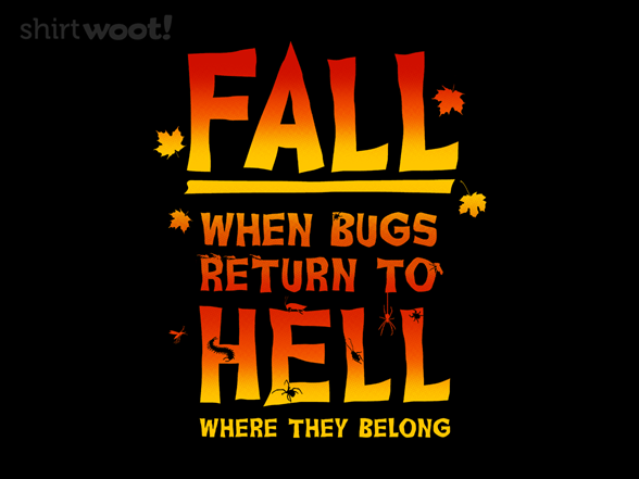 Woot!: Back to Hell Pullover Hoodie - $21.00 + $5 standard shipping