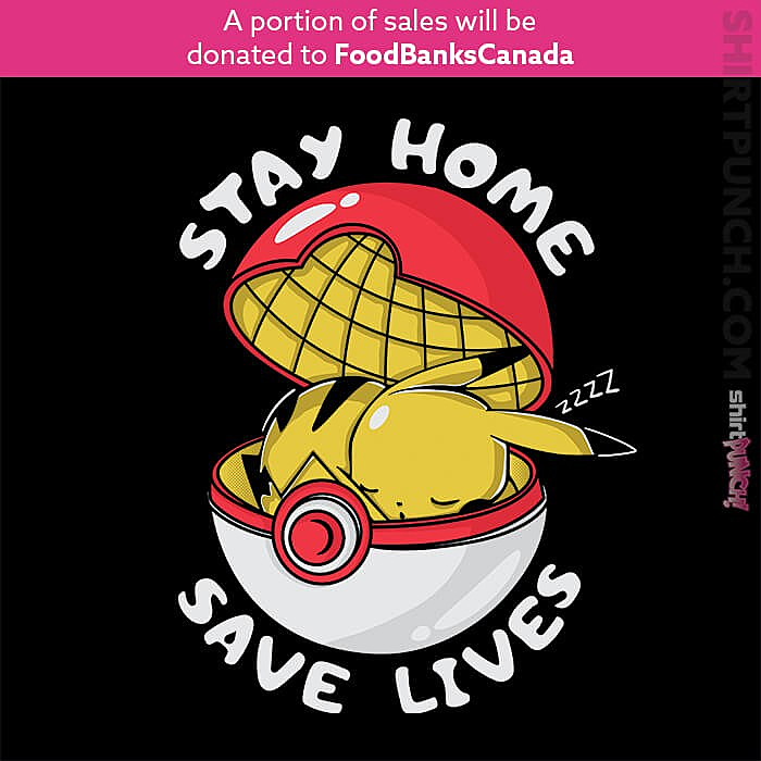 ShirtPunch: Stay Home