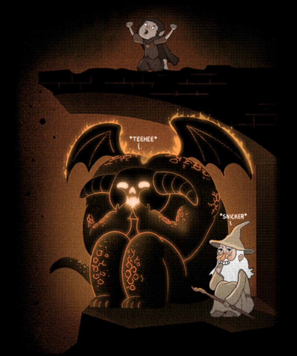 Qwertee: Wizardly Shenanigans!