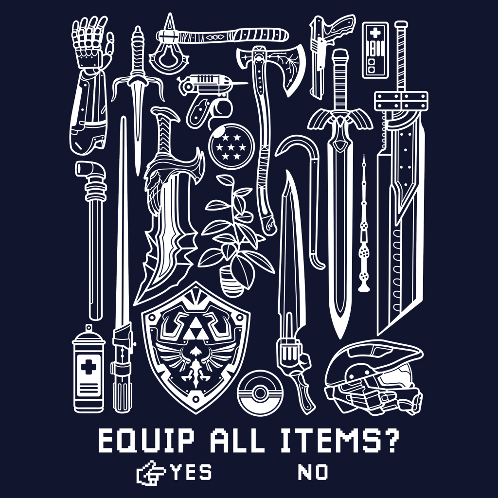 TeeTee: Equip all items