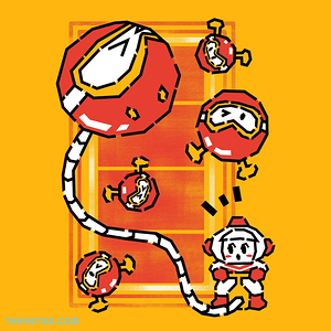 The Yetee: Retro Digger