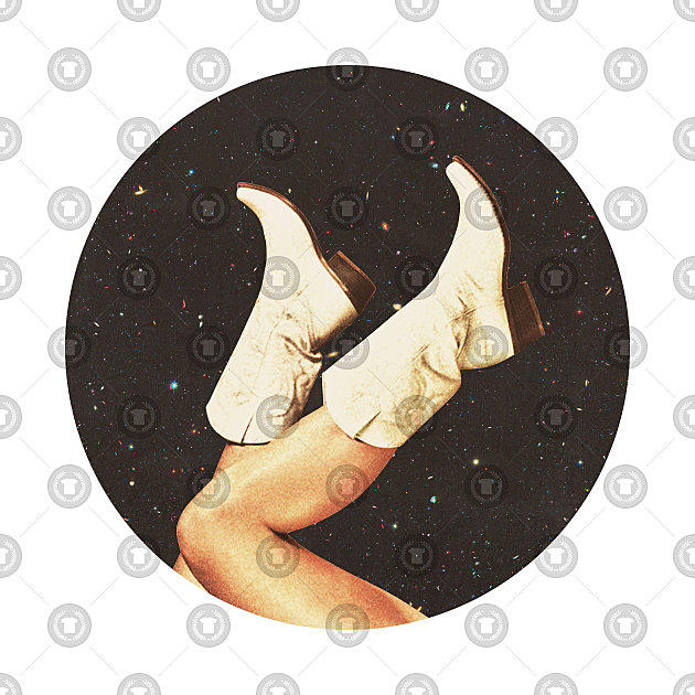 TeePublic: These Boots - Space