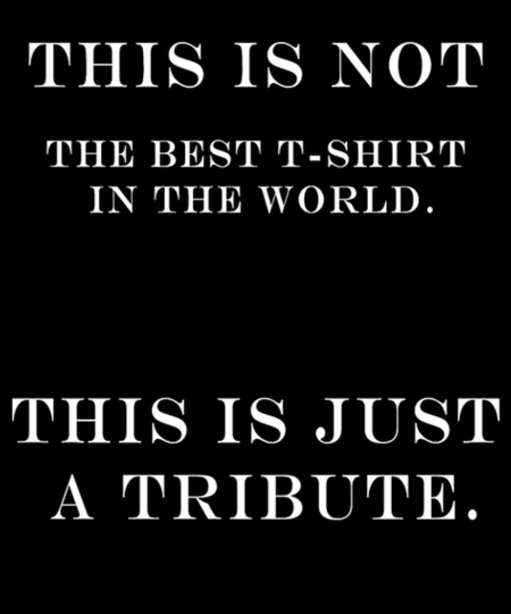 Qwertee: Best T-shirt tribute