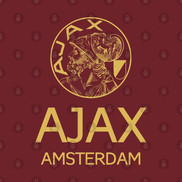 TeePublic: Ajax Amsterdam Gold