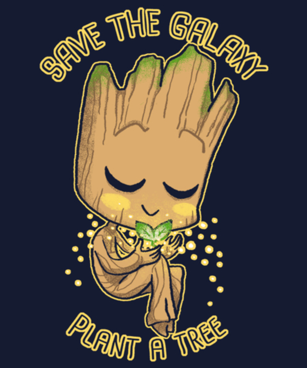 Qwertee: Save the Galaxy Plant a Tree