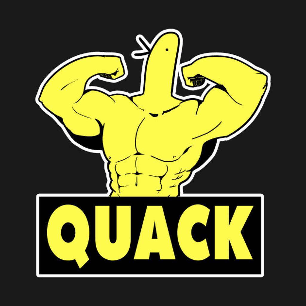 TeePublic: Quack