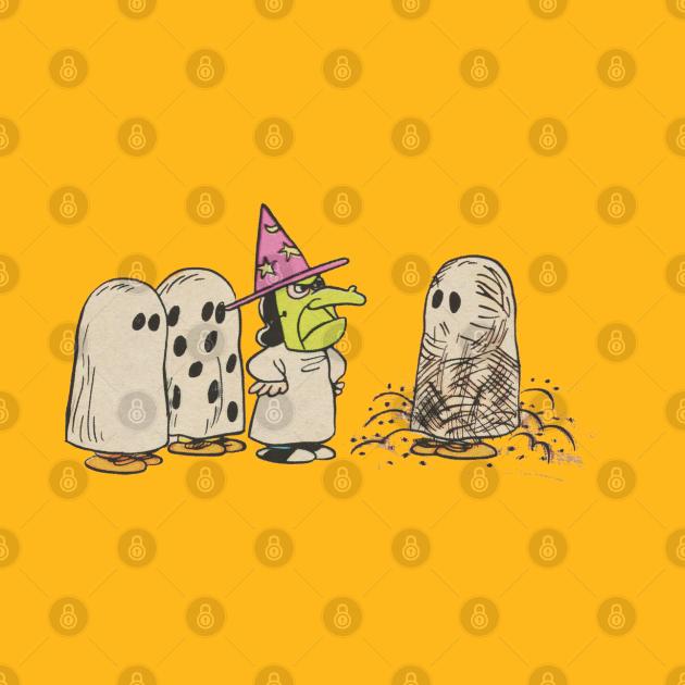 TeePublic: Peanuts Vintage Great Pumpkin Ghost Costumes
