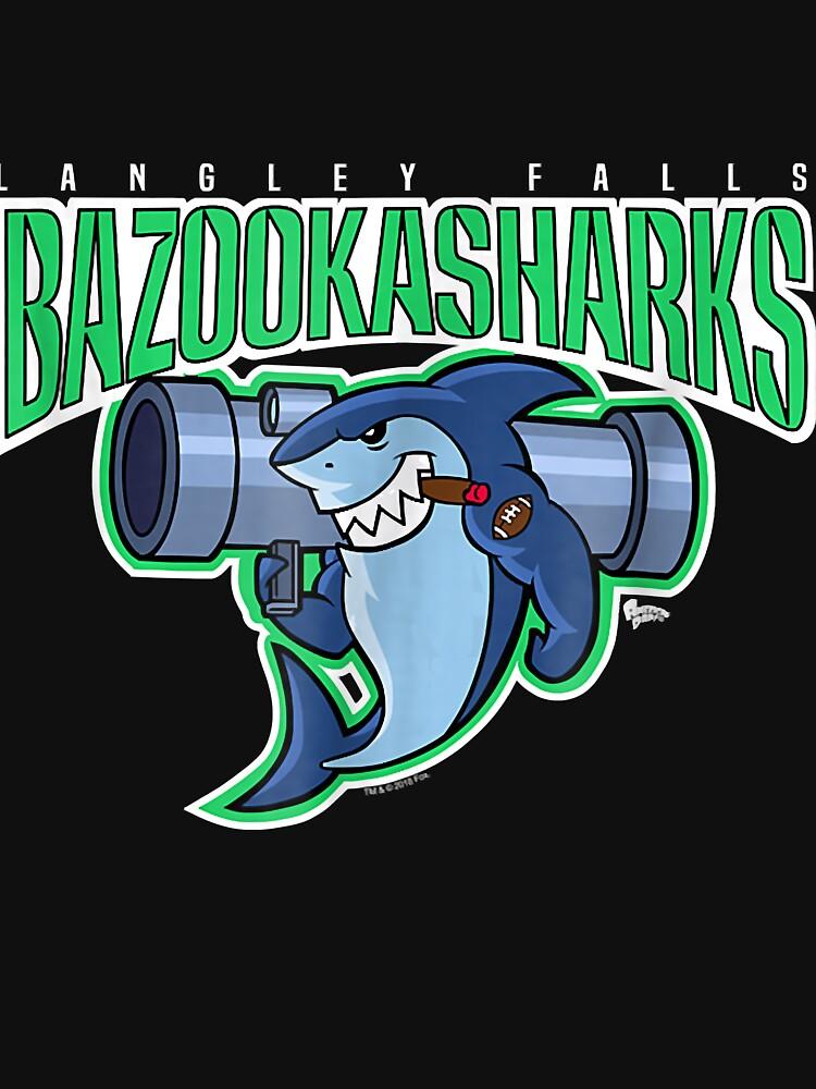 RedBubble: American Dad Bazooka Sharks Logo