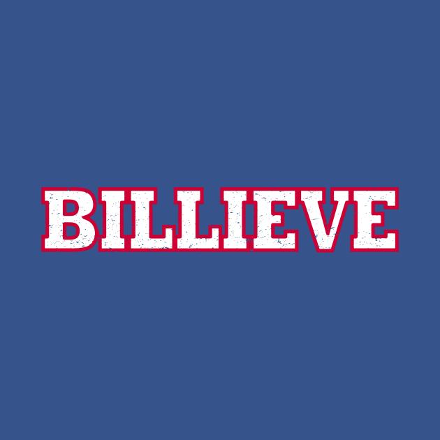 TeePublic: Buffalo Bills BILLIEVE distressed