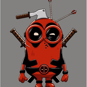 Shirt Battle: Deadpool Minion