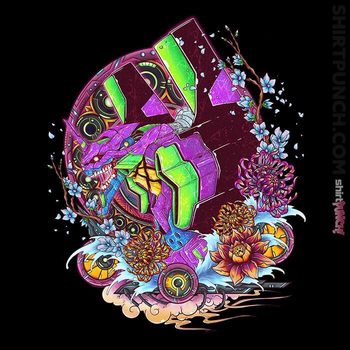 ShirtPunch: Eva 01 Ornate