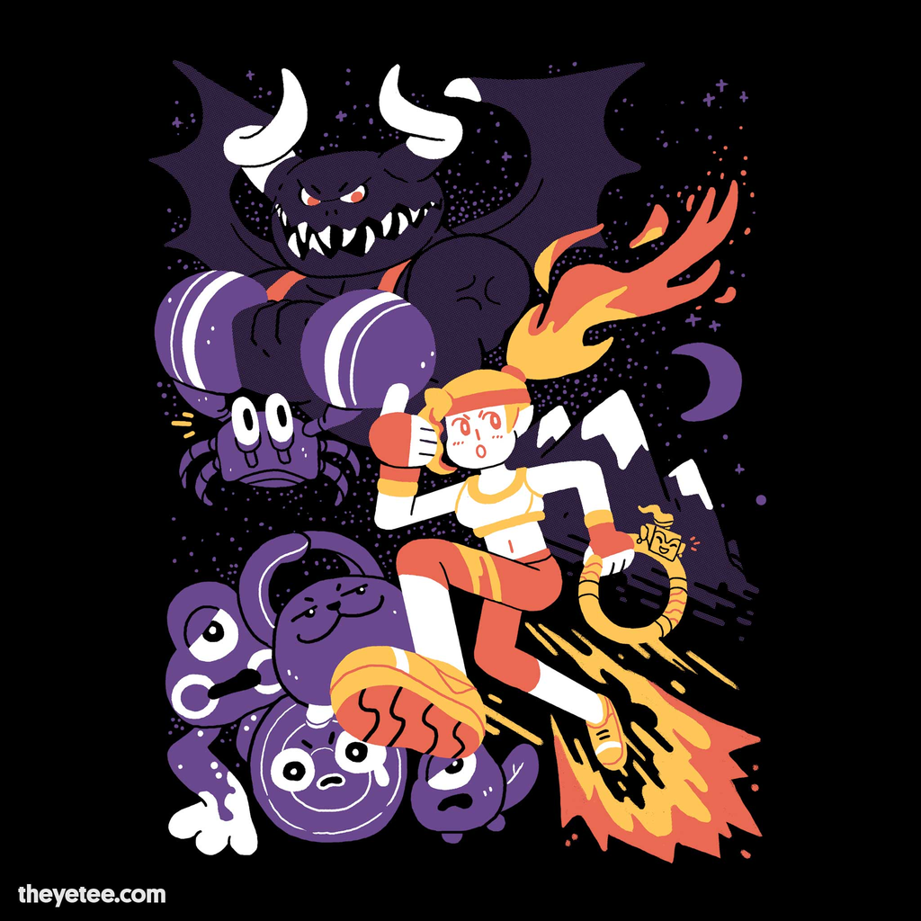 The Yetee: Get Fit, Save the World