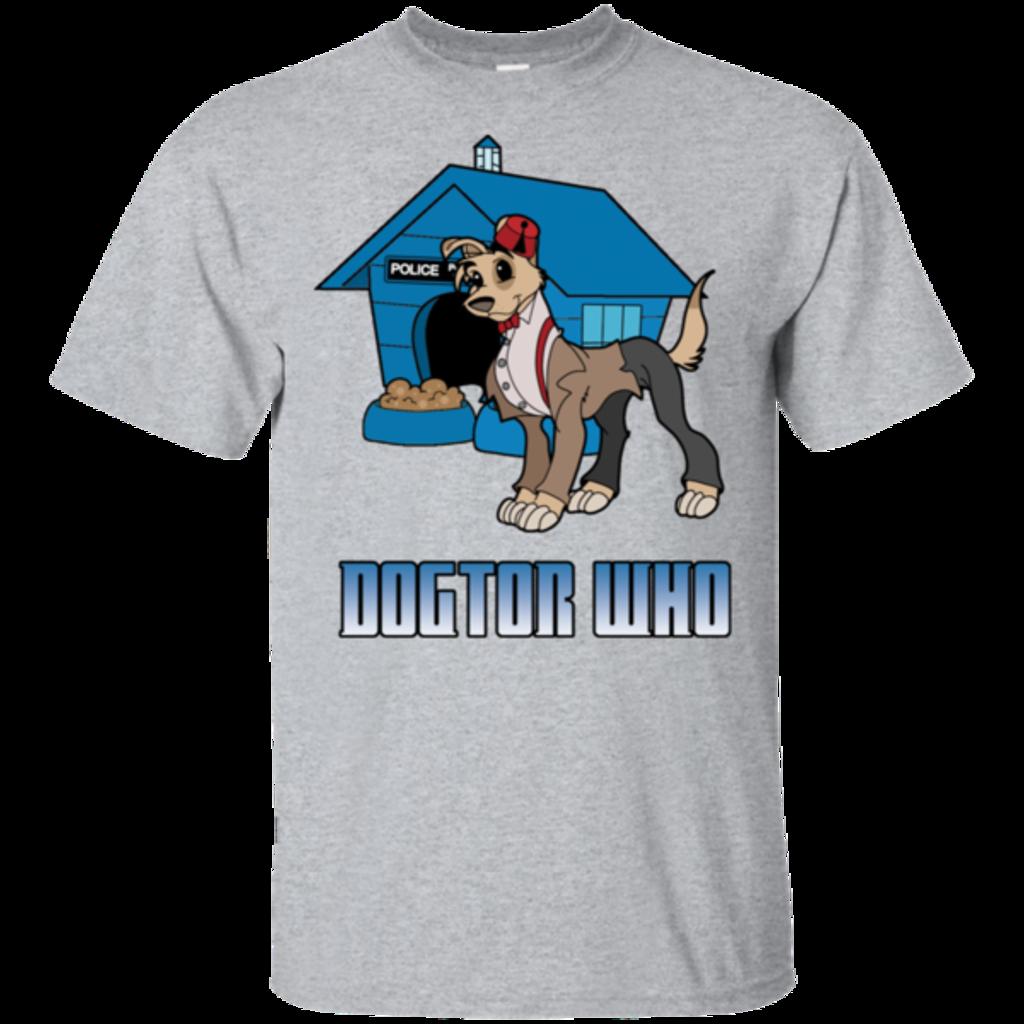 Pop-Up Tee: Dogtor Who