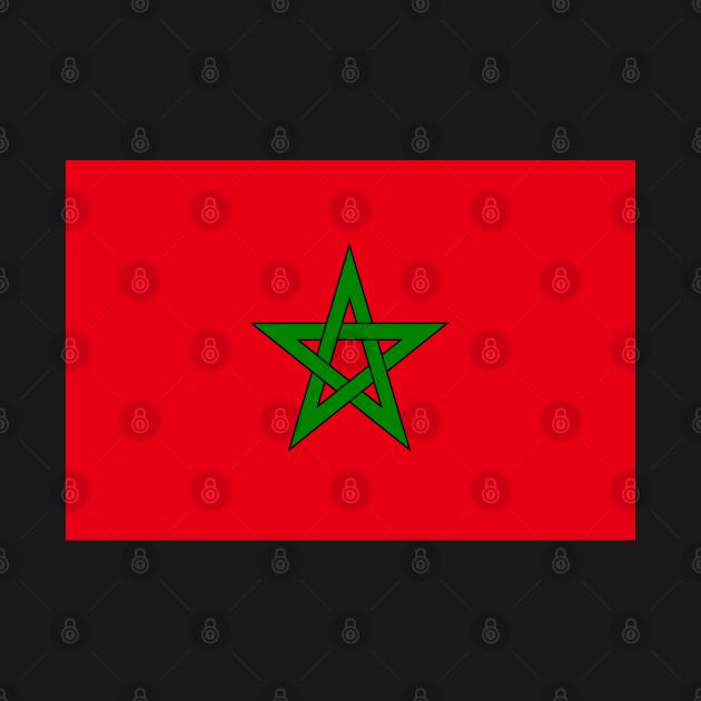TeePublic: Moroccan flag