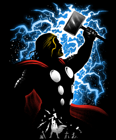 Qwertee: God of Thunder