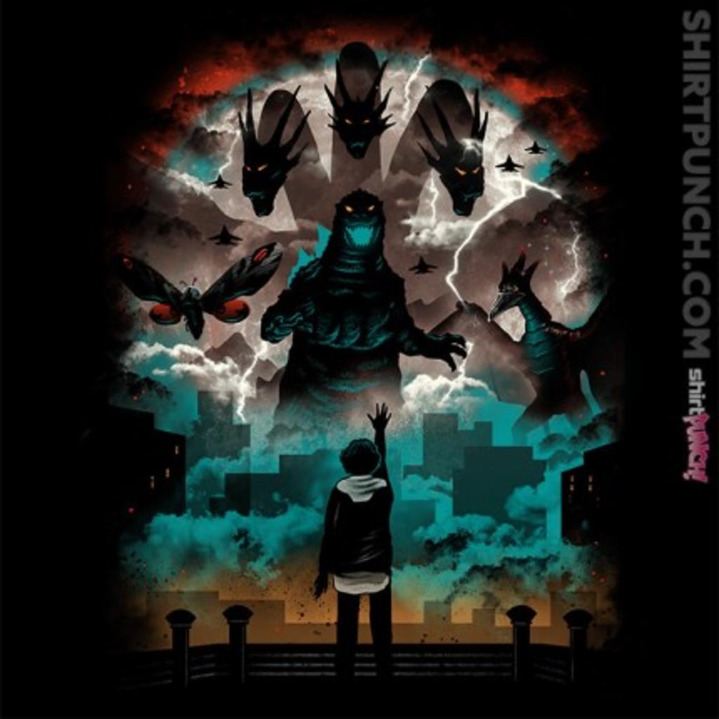 ShirtPunch: Strange Titans