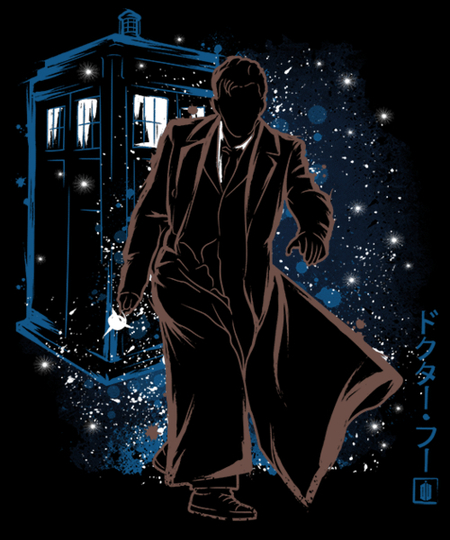 Qwertee: The Doctor