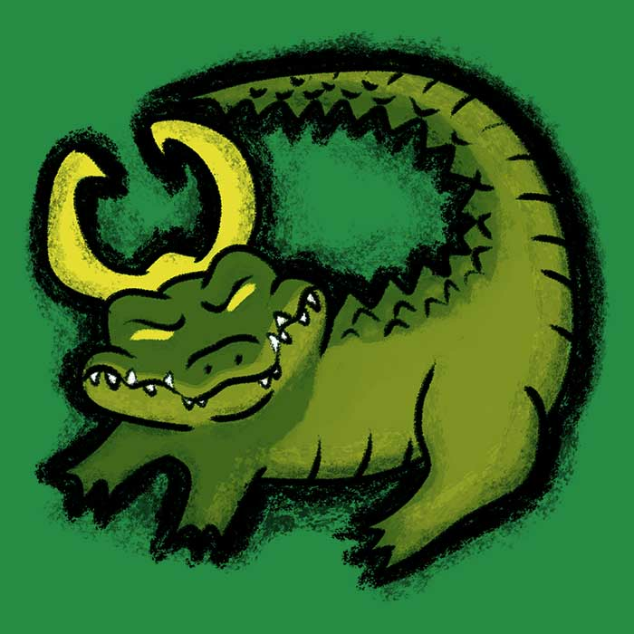 Once Upon a Tee: The Alligator King