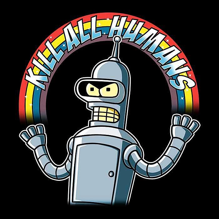 Once Upon a Tee: Shiny Metal Robot