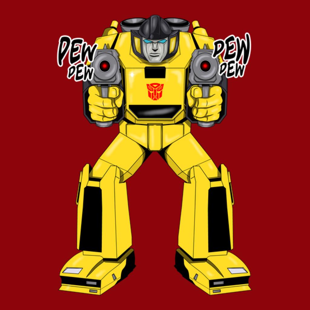 NeatoShop: Transformers Sunstreaker G1 Pew Pew