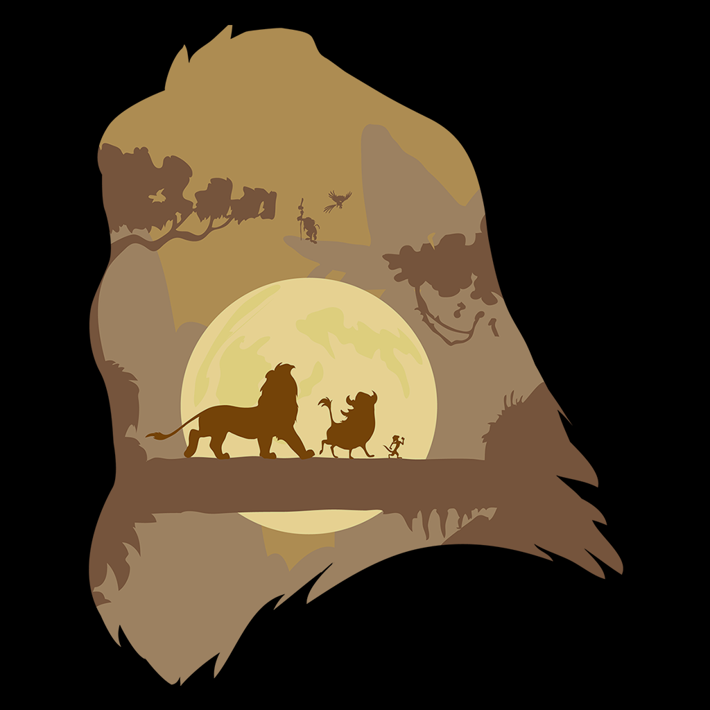Pop-Up Tee: Lion Portrait