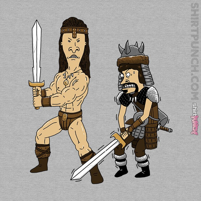 ShirtPunch: The Barbarian And The Thief