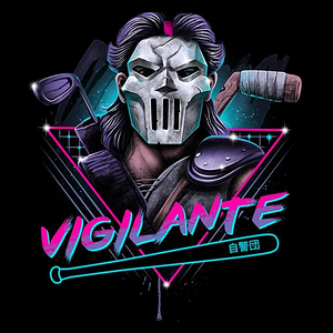 Once Upon a Tee: Rad Vigilante