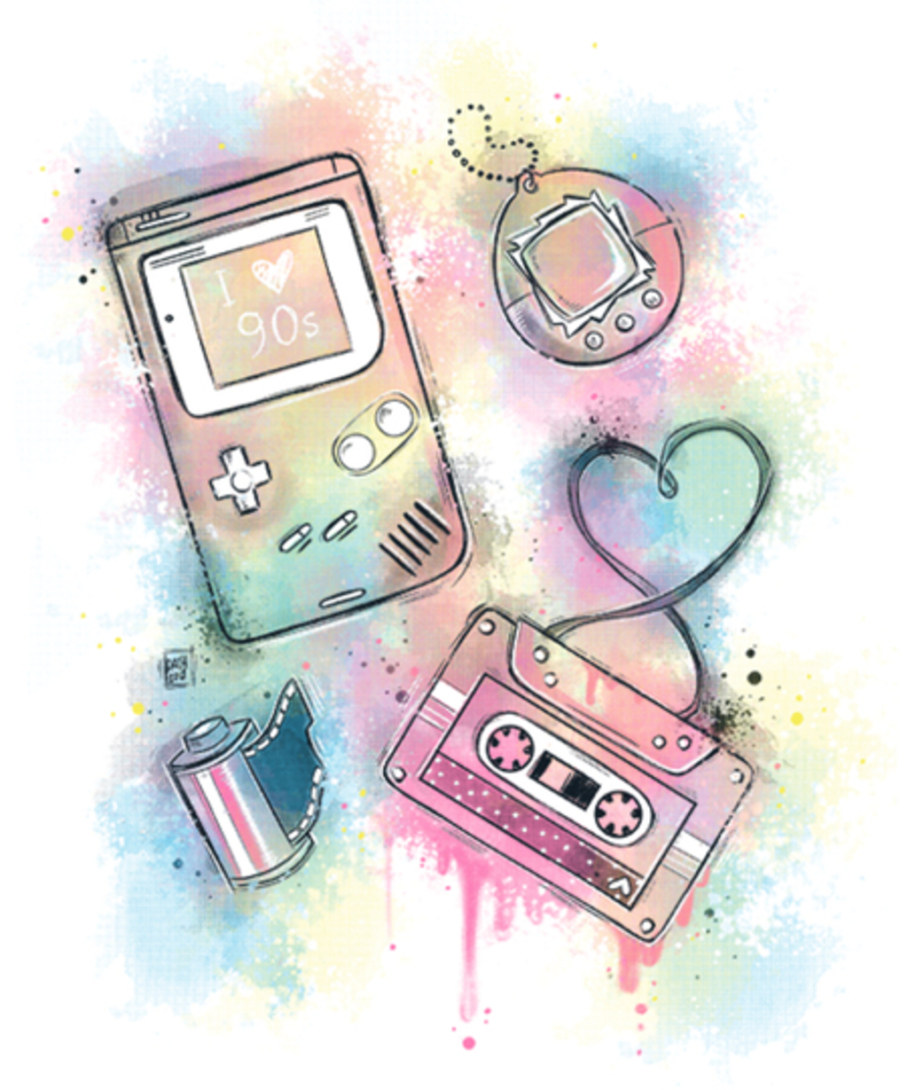 Qwertee: Love 90s