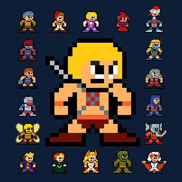 NeatoShop: 8-bit Heroic Warriors